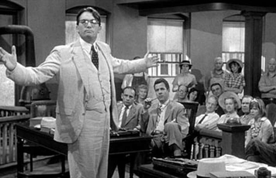 The 1962 film 'To Kill a Mockingbird' was based on the novel by Harper Lee.