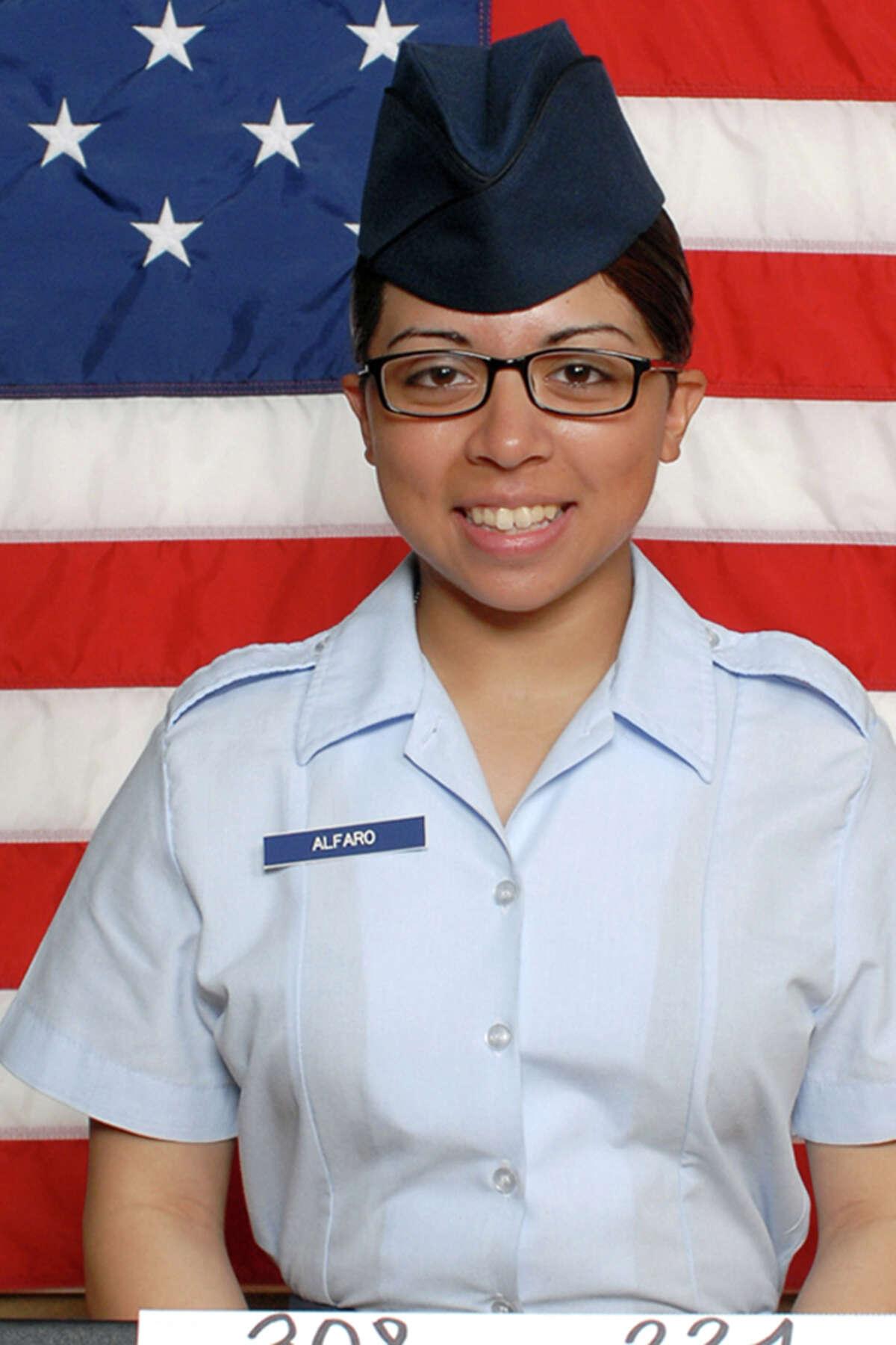Martha C. Alfaro recently completed basic military training.
