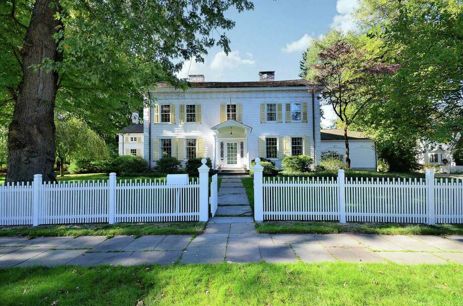The antique Colonial at 766 Old Post Road is on the market for $2,695,000. Photo: Contributed Photo / Fairfield Citizen contributed