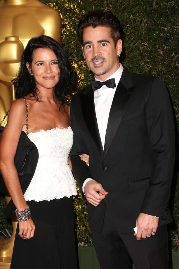 Actor Colin Farrell and Claudine Farrell arrives at the Academy of Motion Picture Arts and Sciences' Governors Awards at The Ray Dolby Ballroom at Hollywood & Highland Center on November 16, 2013 in Hollywood, California. Photo: Frederick M. Brown, Getty Images