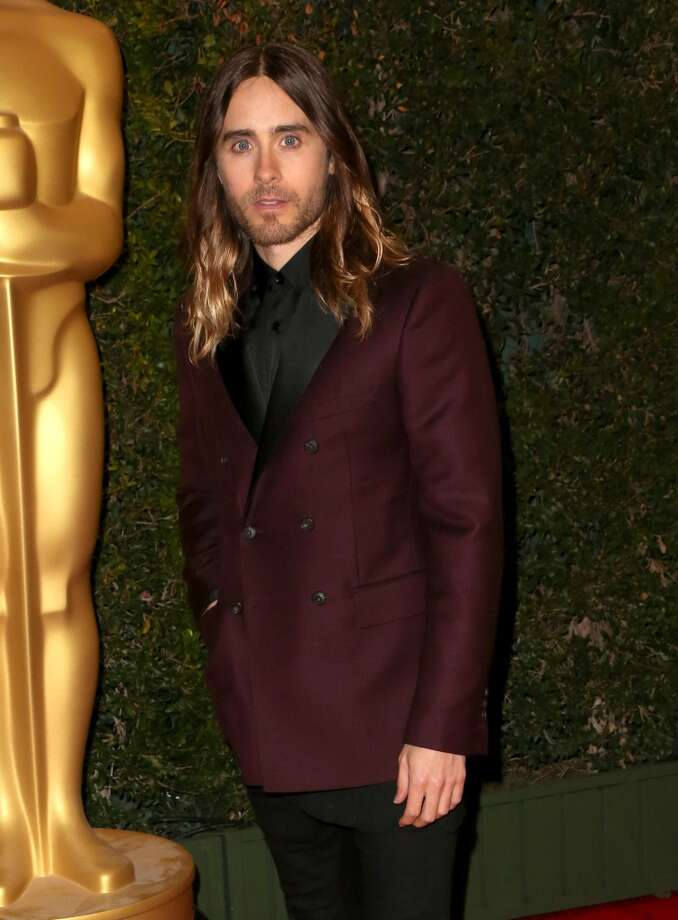 Actor Jared Leto arrives at the Academy of Motion Picture Arts and Sciences' Governors Awards at The Ray Dolby Ballroom at Hollywood & Highland Center on November 16, 2013 in Hollywood, California. Photo: Frederick M. Brown, Getty Images