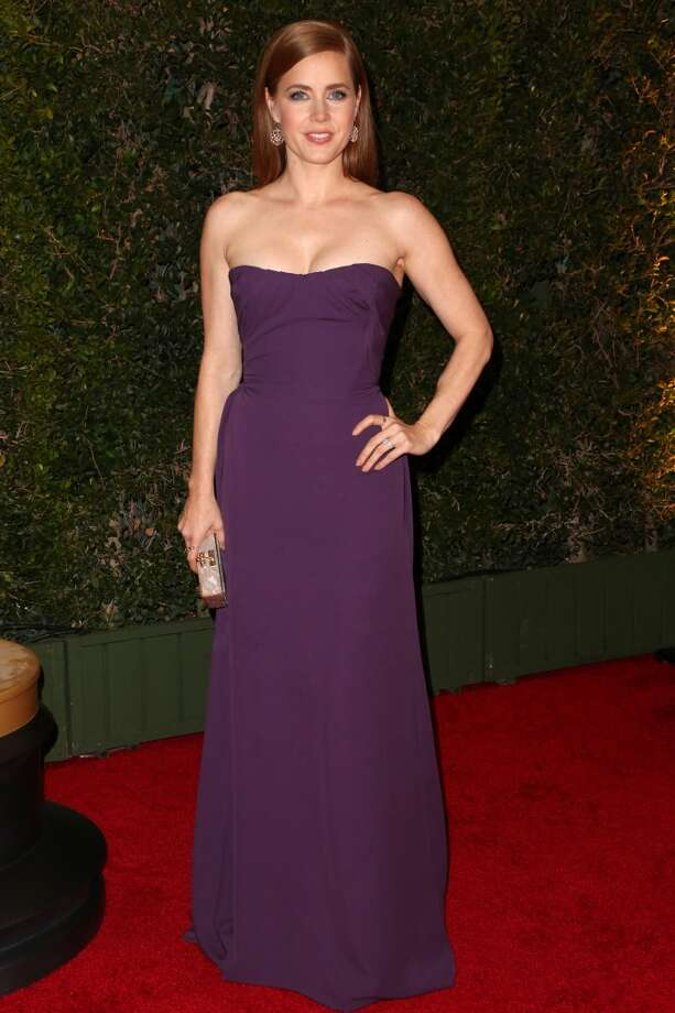 Actress Amy Adams arrives at the Academy of Motion Picture Arts and Sciences' Governors Awards at The Ray Dolby Ballroom at Hollywood & Highland Center on November 16, 2013 in Hollywood, California. Photo: Frederick M. Brown, Getty Images