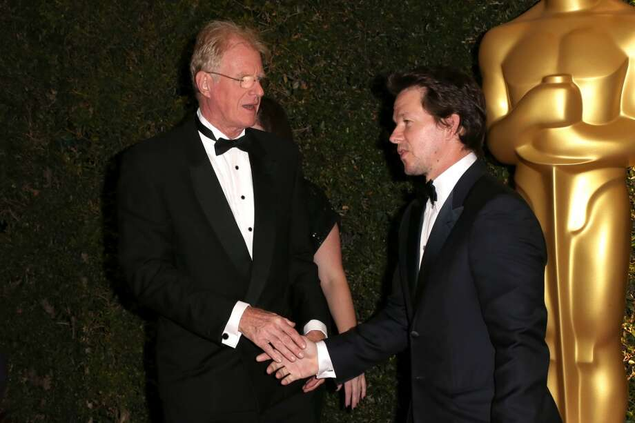 Actors Ed Begley Jr. and Mark Wahlberg arrive at the Academy of Motion Picture Arts and Sciences' Governors Awards at The Ray Dolby Ballroom at Hollywood & Highland Center on November 16, 2013 in Hollywood, California. Photo: Frederick M. Brown, Getty Images