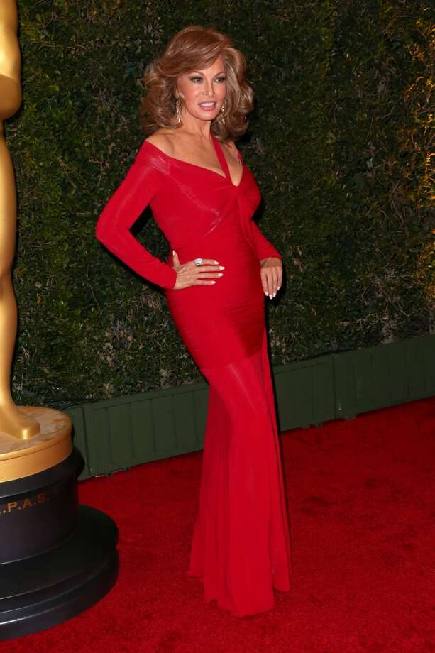Actress Raquel Welch arrives at the Academy of Motion Picture Arts and Sciences' Governors Awards at The Ray Dolby Ballroom at Hollywood & Highland Center on November 16, 2013 in Hollywood, California. Photo: Frederick M. Brown, Getty Images