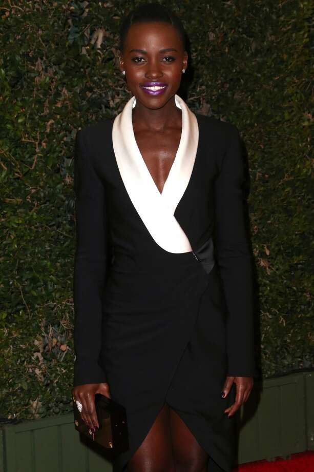 Actress/director Lupita Nyong'o arrives at the Academy of Motion Picture Arts and Sciences' Governors Awards at The Ray Dolby Ballroom at Hollywood & Highland Center on November 16, 2013 in Hollywood, California. Photo: Frederick M. Brown, Getty Images