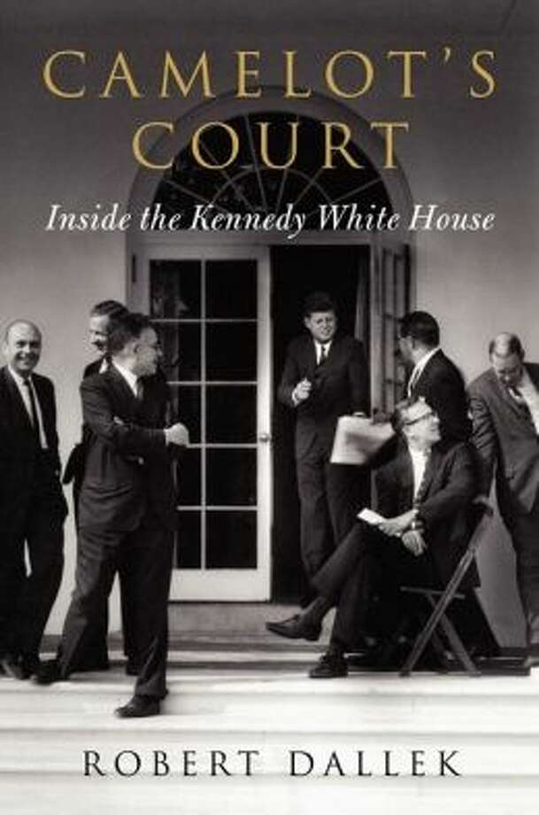 """""""Camelot's Court: Inside the Kennedy White House,"""" by Robert Dallek. (Harper, 492 pp., $32.50) A close look at Kennedy's trusted — and, at times, untrusted — advisers, who weighed in on the Bay of Pigs, the Cuban Missile Crisis, civil rights, Vietnam and more. JFK emerges as a leader who kept his own moral compass and listened to his gut, often disagreeing with Secretary of Defense Robert McNamara, Secretary of State Dean Rusk and National Security Adviser McGeorge Bundy. The exception, of course, was his brother, Bobby Kennedy. Kennedy's attorney general was """"a sounding board and instrument for testing out ideas on others."""""""