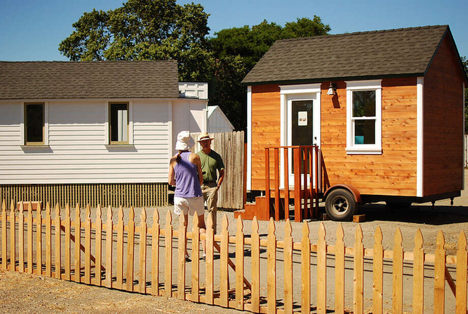 Tiny houses can be purchased in various forms. Photo: Flickr Creative Commons/Nicolas Boullosa