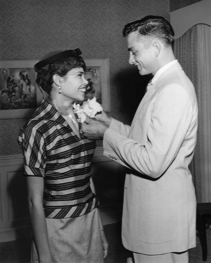 Johnny Cash with his first wife, Vivian Liberto. They were married in San Antonio. Photo: Courtesy Photo