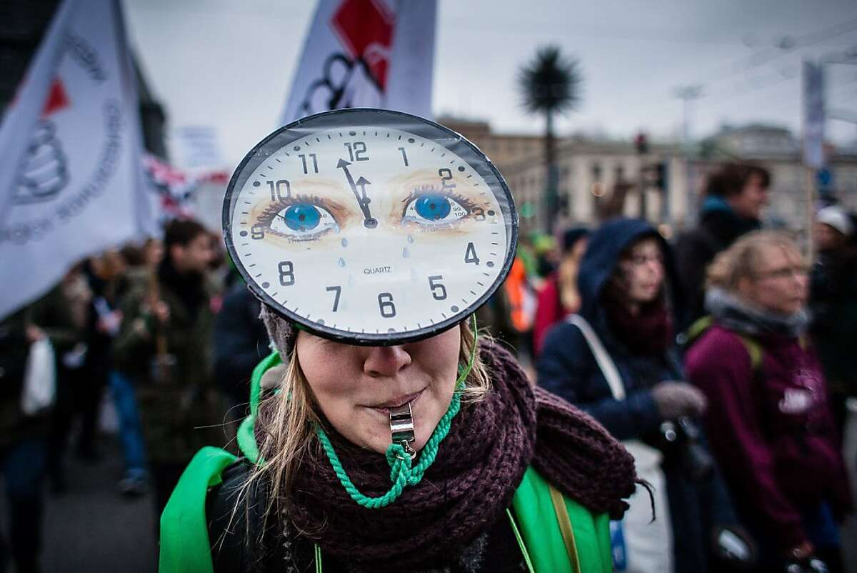 High noon for climate change: An environmental activist tweets timely advice for saving the Earth from global warming at the United Nations Climate Change COP19 conference in Warsaw.