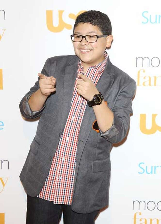 "Rico Rodriguez plays Manny Delgado on ABC's ""Modern Family."" Photo: Michael Tran, FilmMagic / 2013 Michael Tran"