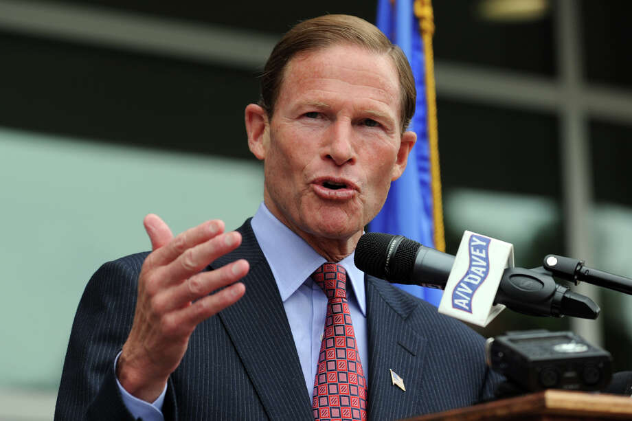 Sen. Richard Blumenthal. Photo: Ned Gerard / Connecticut Post