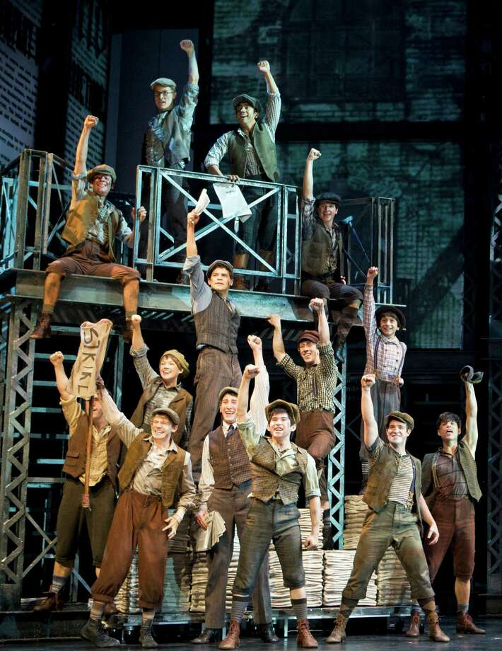 "The Palace Theater in Waterbury announced last week that it will be getting the only Connecticut engagement of the national tour of the Broadway hit ""Newsies"" that will be launched next fall. The show has a book by longtime Litchfield County resident Harvey Fierstein. Photo: Contributed Photo / Connecticut Post Contributed"