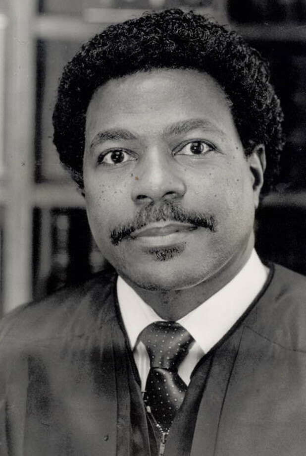 Donald J. Floyd on December 15, 1989. Photo: Enterprise archives.