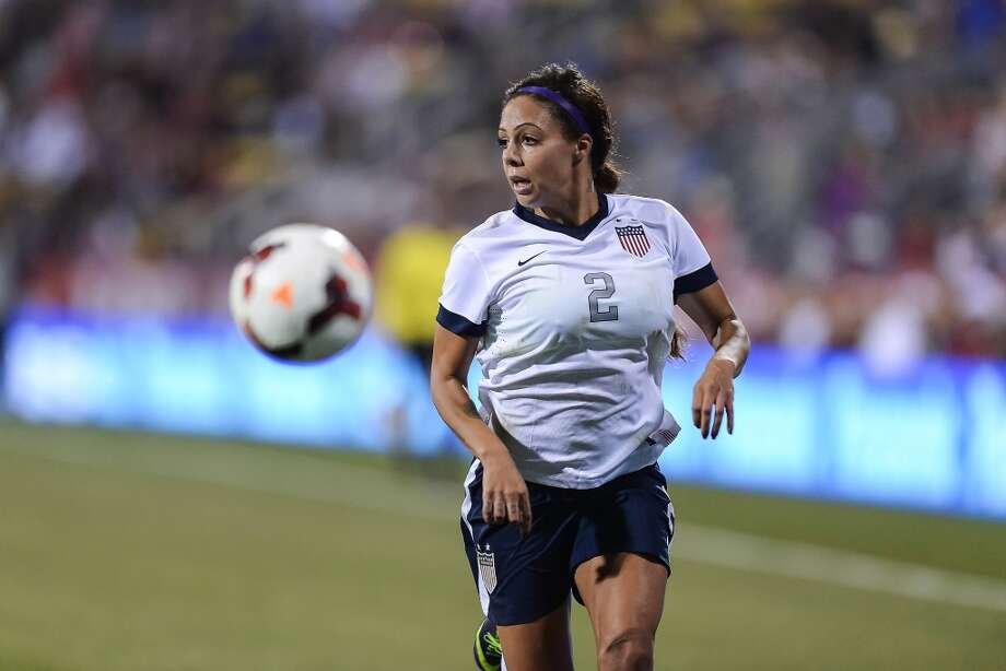 COLUMBUS, OH - OCTOBER 30:  Sydney Leroux #2 of the US Women's National Team in action against New Zealand at Columbus Crew Stadium on October 30, 2013 in Columbus, Ohio.  (Photo by Jamie Sabau/Getty Images) Photo: Getty Images