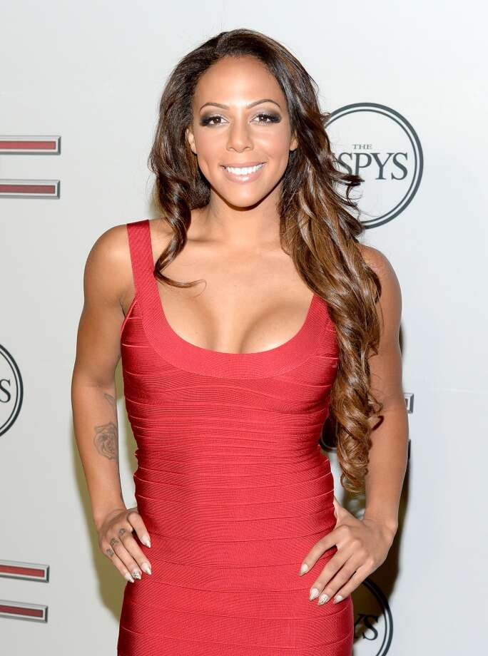 "HOLLYWOOD, CA - JULY 16:  Professional soccer player Sydney Leroux attends ESPN the Magazine 5th annual ""Body Issue"" party at Lure on July 16, 2013 in Hollywood, California.  (Photo by Michael Kovac/WireImage) Photo: WireImage"