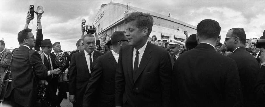 President John F. Kennedy in San Antonio, Nov. 21, 1963. Photo: Houston Chronicle / Houston Chronicle