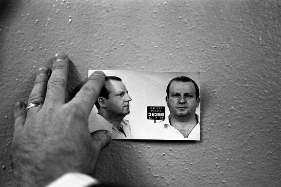 Photo of an earlier mugshot of Jack Ruby.
