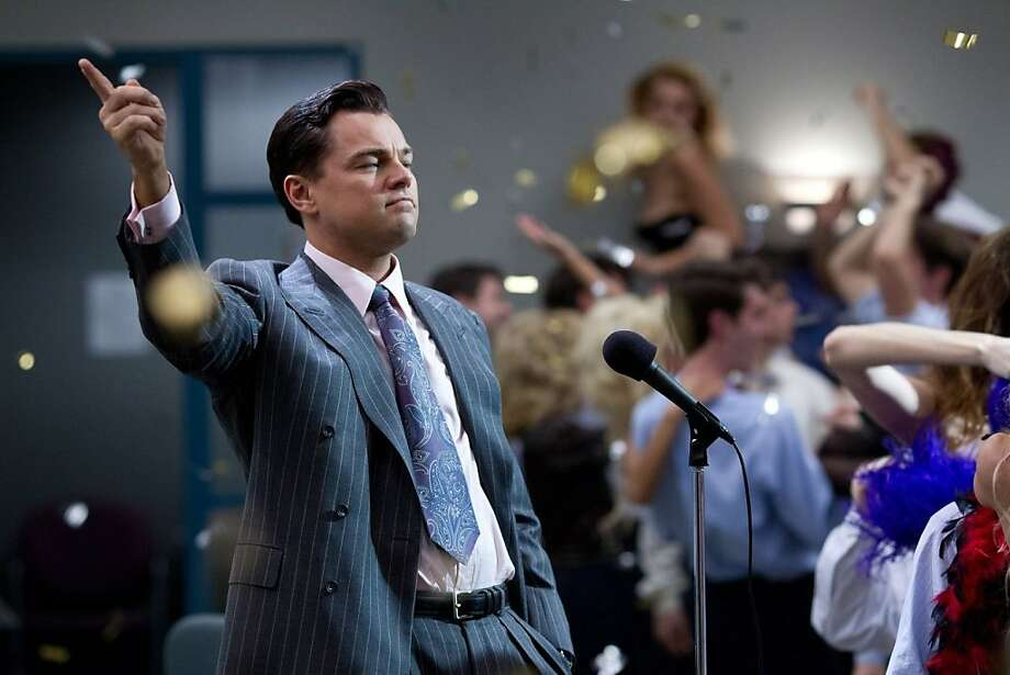 The adventures of Leonardo DiCaprio's character are at turns entertaining and stomach-turning. Photo: Paramount Pictures