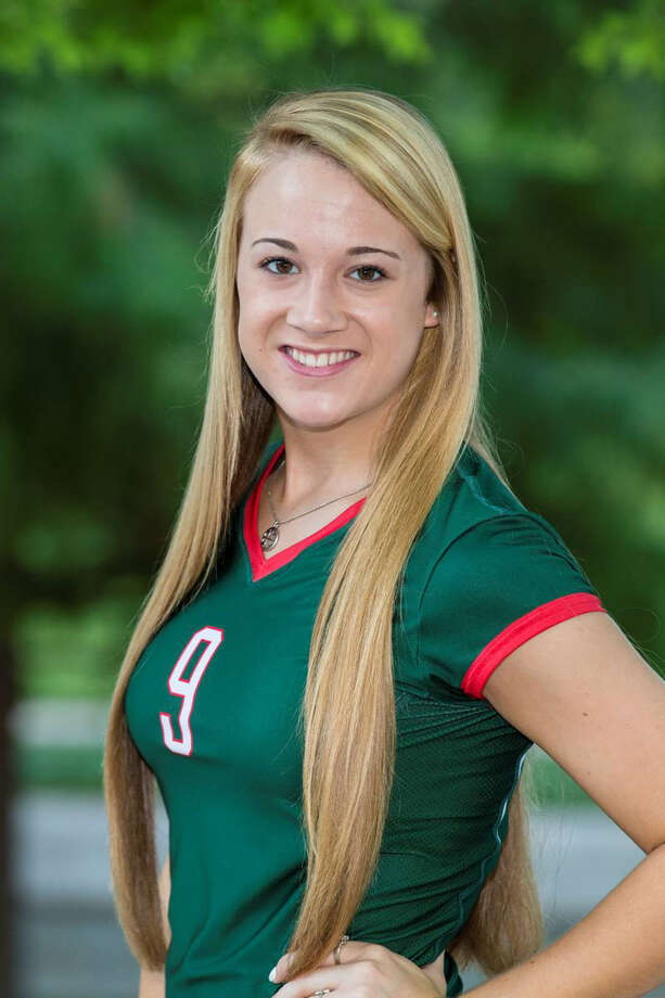 Courtney Eckenrode The Woodlands High School volleyball Courtesy photo