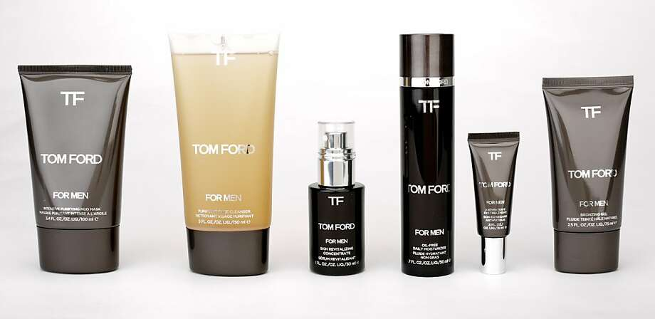 Tom Ford skin care products for men Photo: Russell Yip, The Chronicle