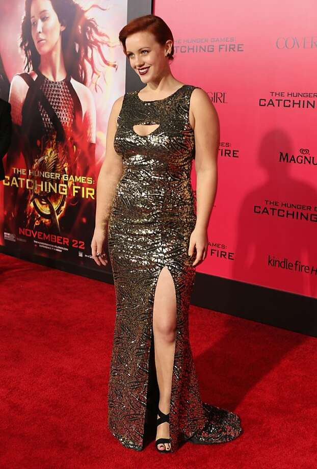 "Actress Bruce Bundy attends premiere of Lionsgate's ""The Hunger Games: Catching Fire"" - Red Carpet at Nokia Theatre L.A. Live on November 18, 2013 in Los Angeles, California. Photo: Christopher Polk, Getty Images"