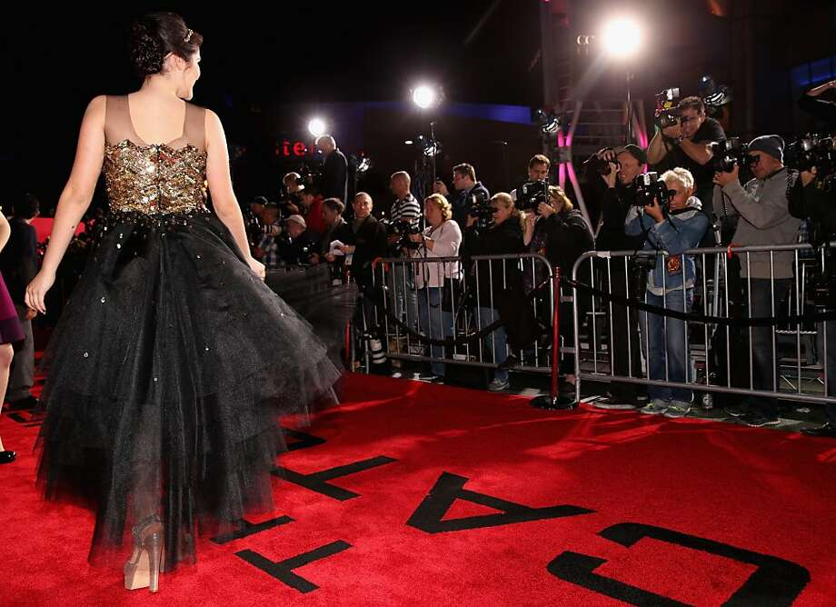 "Actress Isabelle Fuhrman attends premiere of Lionsgate's ""The Hunger Games: Catching Fire"" - Red Carpet at Nokia Theatre L.A. Live on November 18, 2013 in Los Angeles, California. Photo: Christopher Polk, Getty Images"