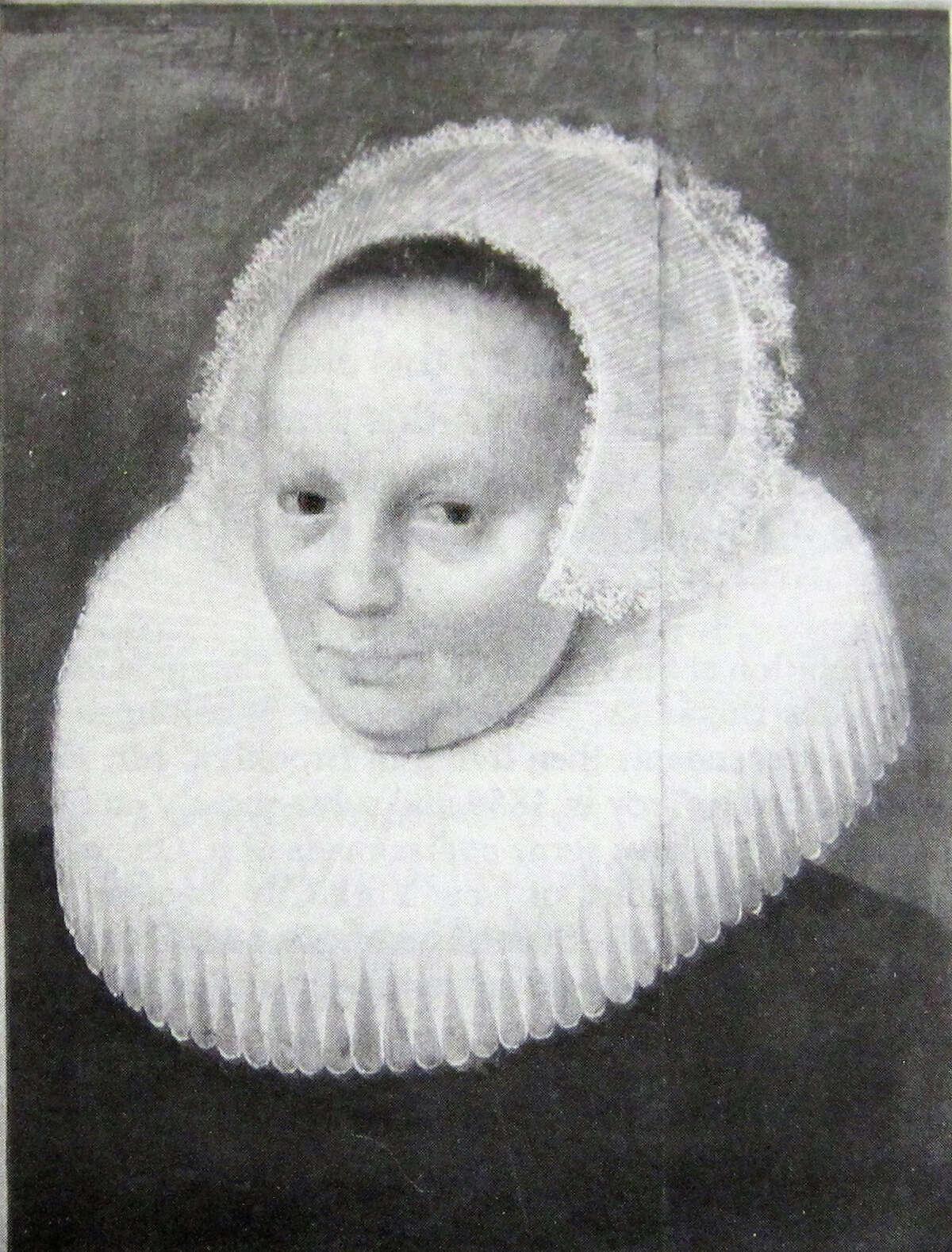 Portrait believed to be Anneke Jans Bogardus.