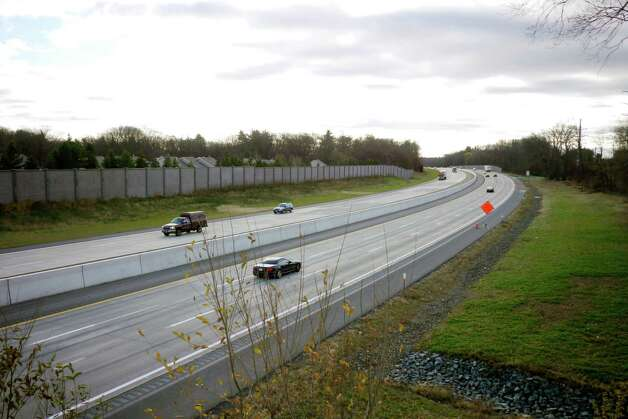 A view of the New York State Thruway from the Schoolhouse Road overpass on Tuesday, Nov. 19, 2013 in Albany, N.Y.(Paul Buckowski / Times Union)