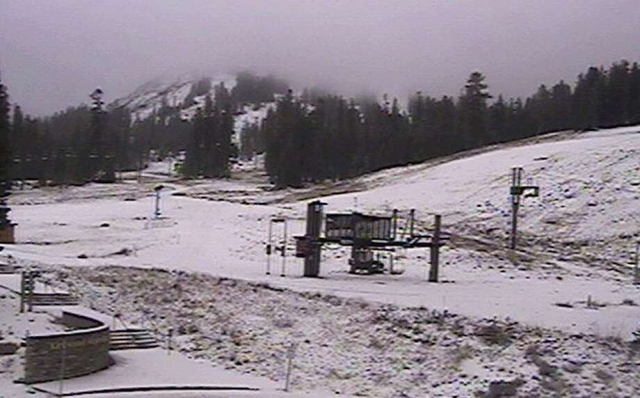 At 8 a.m. Tuesday, Kirkwood had two inches of snow at its 8,600-foot base as storm arrived