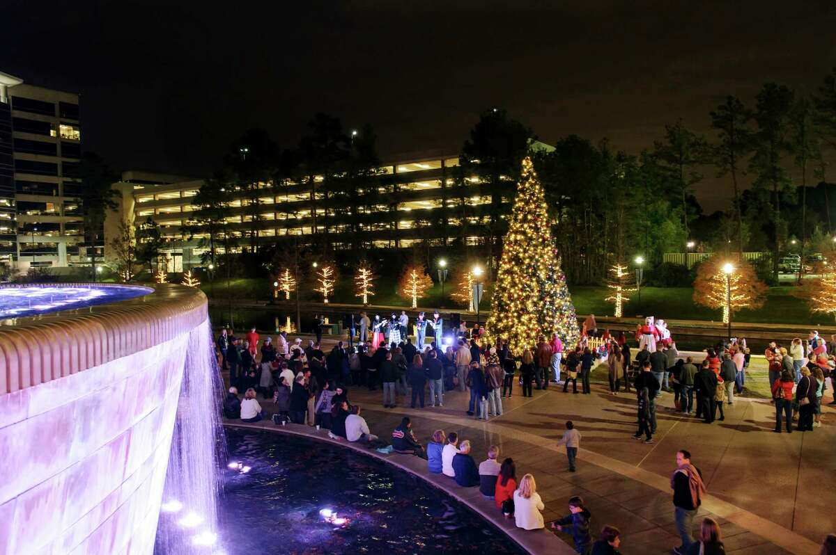 """Waterway Square will again host the popular """"Caroling on the Square"""" on the first three Saturdays in December."""