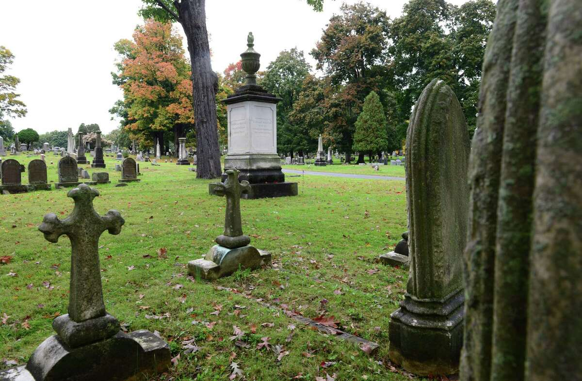 The Van Rensselaer family plot. Stephen Van Rensselaer was a man of considerable wealth. (Will Waldron/Times Union)