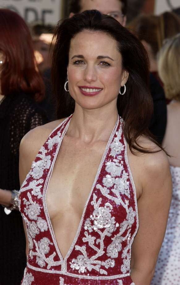 Andie MacDowell in 2002. Photo: SGranitz, WireImage