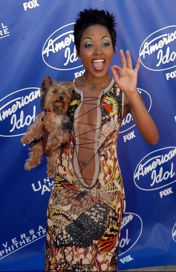 Christina Christian (American Idol Season 2) in 2003. Photo: Steve Grayson, WireImage