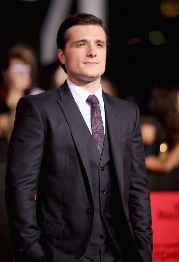 "Actor Josh Hutcherson attends premiere of Lionsgate's ""The Hunger Games: Catching Fire"" - Red Carpet at Nokia Theatre L.A. Live on November 18, 2013 in Los Angeles, California. Photo: Christopher Polk, Getty Images"