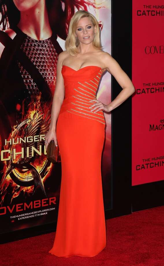 "Actress Elizabeth Banks attends the premiere of Lionsgate's ""The Hunger Games: Catching Fire"" at Nokia Theatre L.A. Live on November 18, 2013 in Los Angeles, California. Photo: David Livingston, Getty Images"