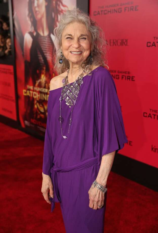 "Actress Lynn Cohen attends premiere of Lionsgate's ""The Hunger Games: Catching Fire"" - Red Carpet at Nokia Theatre L.A. Live on November 18, 2013 in Los Angeles, California. Photo: Christopher Polk, Getty Images"