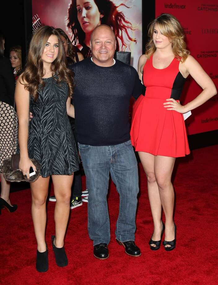 "Actor Michael Chiklis (C) attends the premiere of Lionsgate's ""The Hunger Games: Catching Fire"" at Nokia Theatre L.A. Live on November 18, 2013 in Los Angeles, California. Photo: David Livingston, Getty Images"