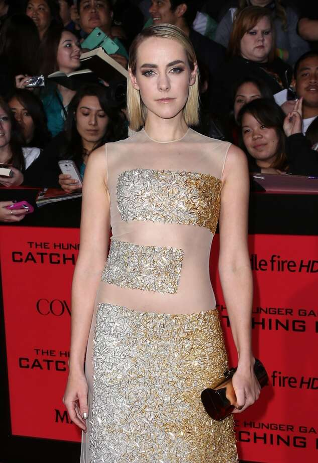 "Actress Jena Malone attends the premiere of Lionsgate's ""The Hunger Games: Catching Fire"" at Nokia Theatre L.A. Live on November 18, 2013 in Los Angeles, California. Photo: David Livingston, Getty Images"
