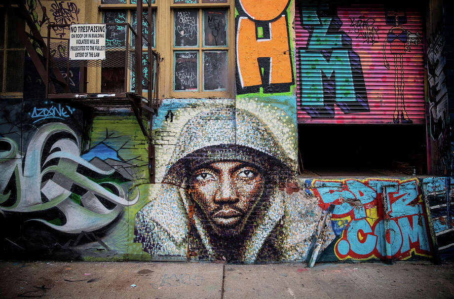 "A federal judge has denied an effort by graffiti artists to stop the demolition of a Queens building known as the city's mecca for aerosol-produced art. The Landmarks Preservation Commission said in August the 5Pointz building didn't meet landmark status. Last night was painted over by the new owner of the building, who plans to demolish the so-called ""5 Pointz"" and build a mixed-use development.BEFORE: A piece of street art is seen at the New York graffiti mecca 5 Pointz on August 9, 2013 Photo: Andrew Burton, Getty Images / 2013 Getty Images"