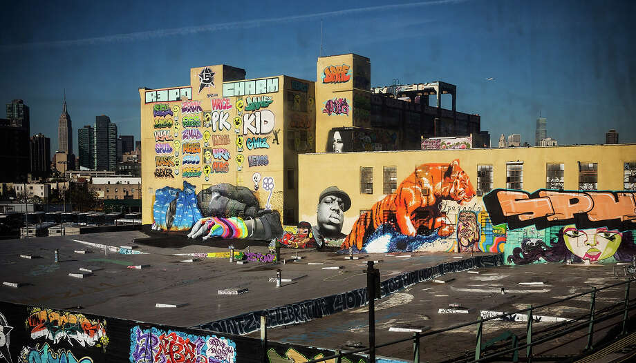 The 5 Pointz Building, a landmark in the New York graffiti scene that has attracted artists from around the globe, is seen on October 28, 2013 in the Long Island City neighborhood of the Queens borough of New York City. Photo: Andrew Burton, Getty Images / 2013 Getty Images