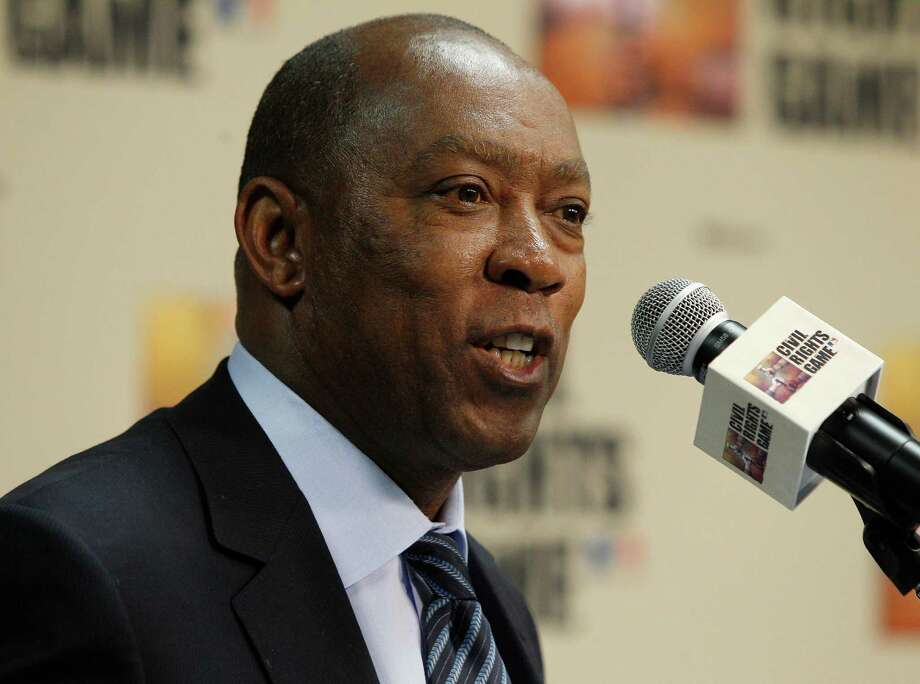 State Representative Sylvester Turner speaks about the importance of the Houston Astros hosting the 2014 Civil Rights Game against the Baltimore Orioles May 30, 2014, during a press conference at Minute Maid Park, Tuesday, Nov.19, 2013 in Houston. (Bob Levey/For The Chronicle) Photo: Bob Levey, Houston Chronicle / ©2013 Bob Levey
