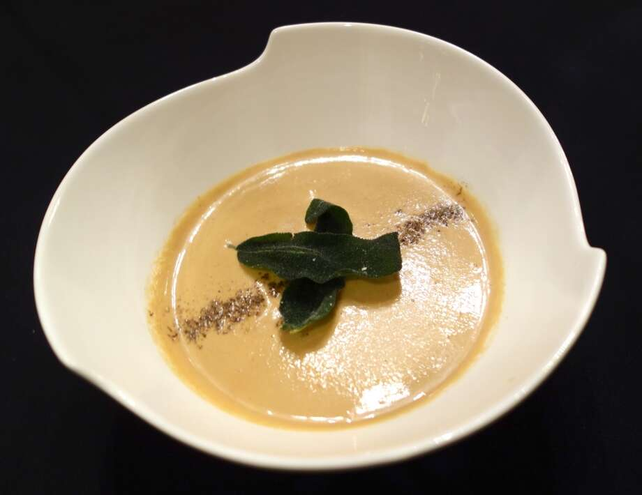 Cream of Chanterelle Mushroom ($10)