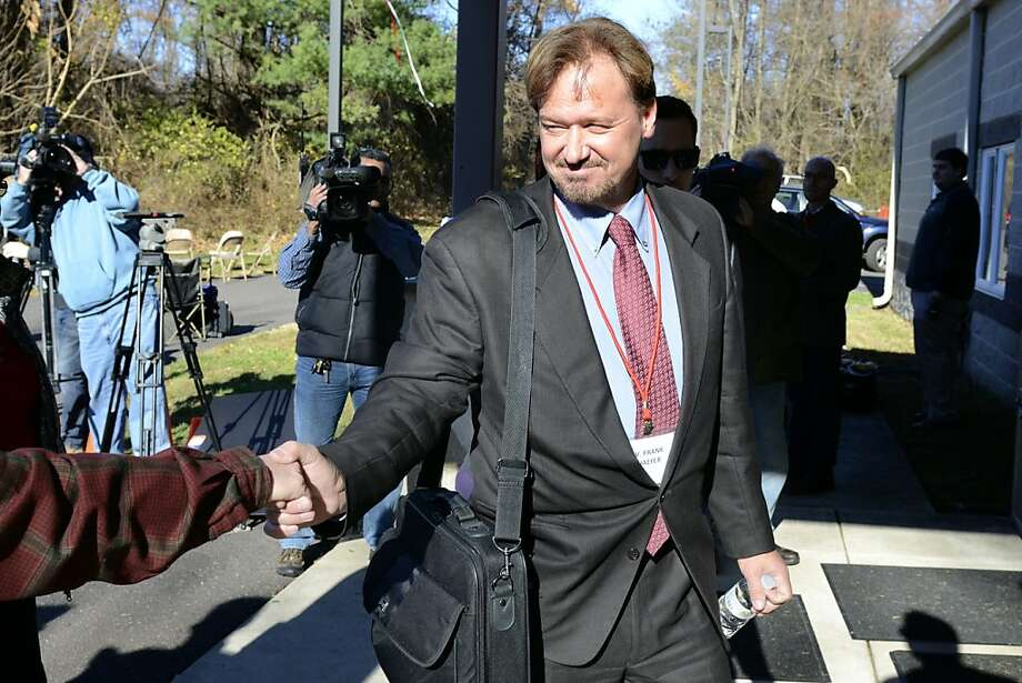 The Rev. Frank Schaefer, convicted of presiding over his son's wedding, says he performed the ceremony out of love, not a desire to flout church teachings. Photo: Tom Gralish, Associated Press