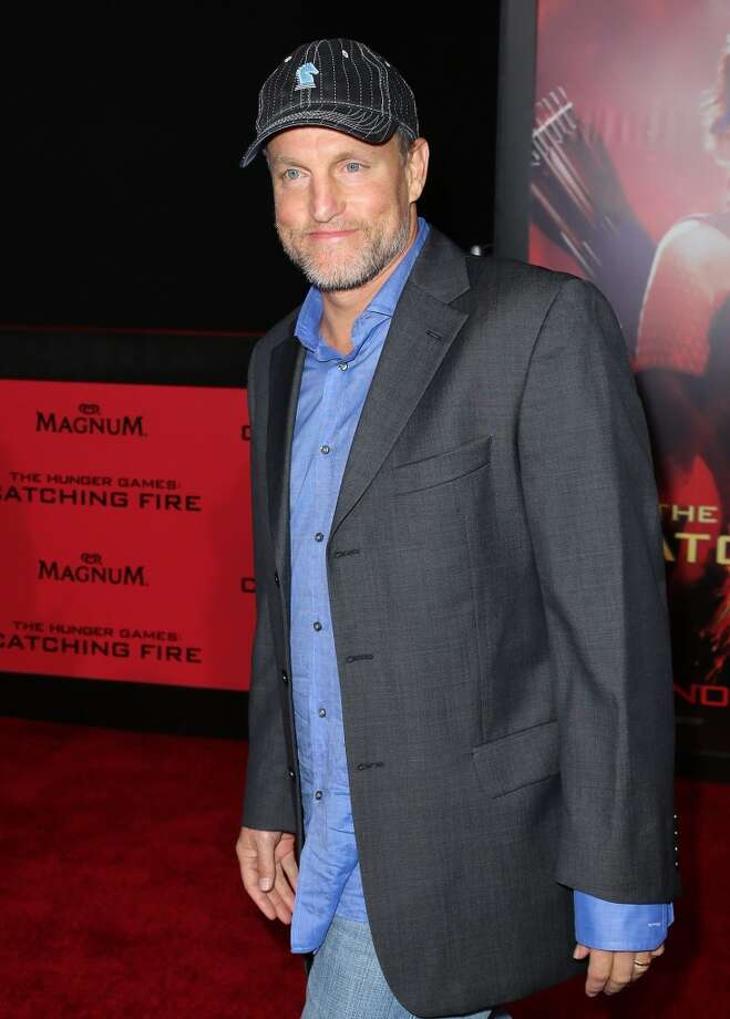 "Actor Woody Harrelson attends the premiere of Lionsgate's ""The Hunger Games: Catching Fire"" at Nokia Theatre L.A. Live on November 18, 2013 in Los Angeles, California. Photo: David Livingston, Getty Images"