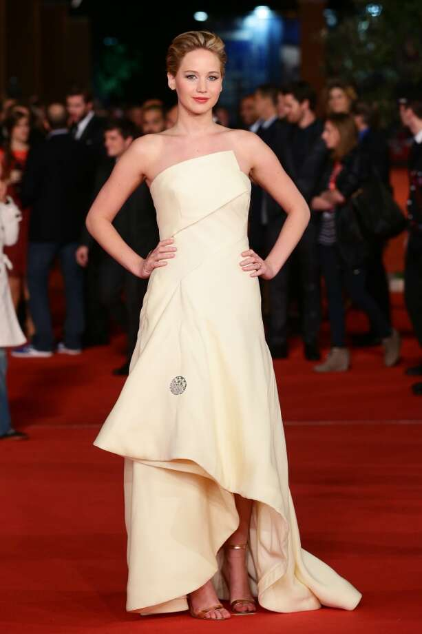 Jennifer Lawrence at the 8th Rome Film Festival. Photo: Vittorio Zunino Celotto, Getty Images