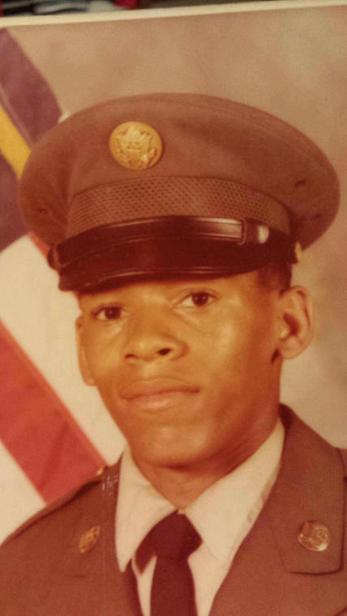 Ronald Wood in an Army uniform shortly after his 1977 graduation from Hudson High School. (Contributed photo)