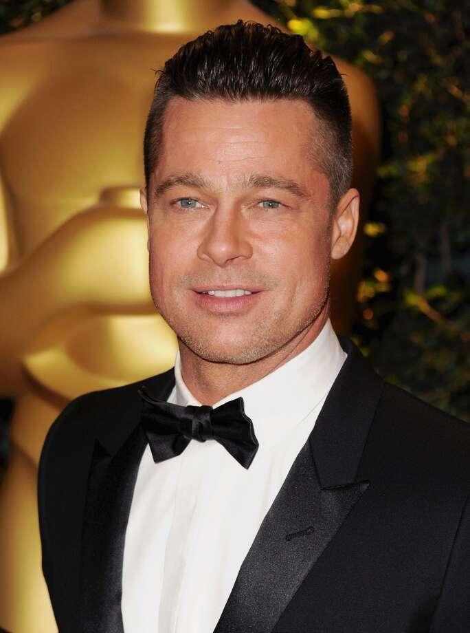 Brad Pitt will turn 50 on Dec. 18. He's pictured on Nov. 26, 2013. Photo: Jon Kopaloff, FilmMagic
