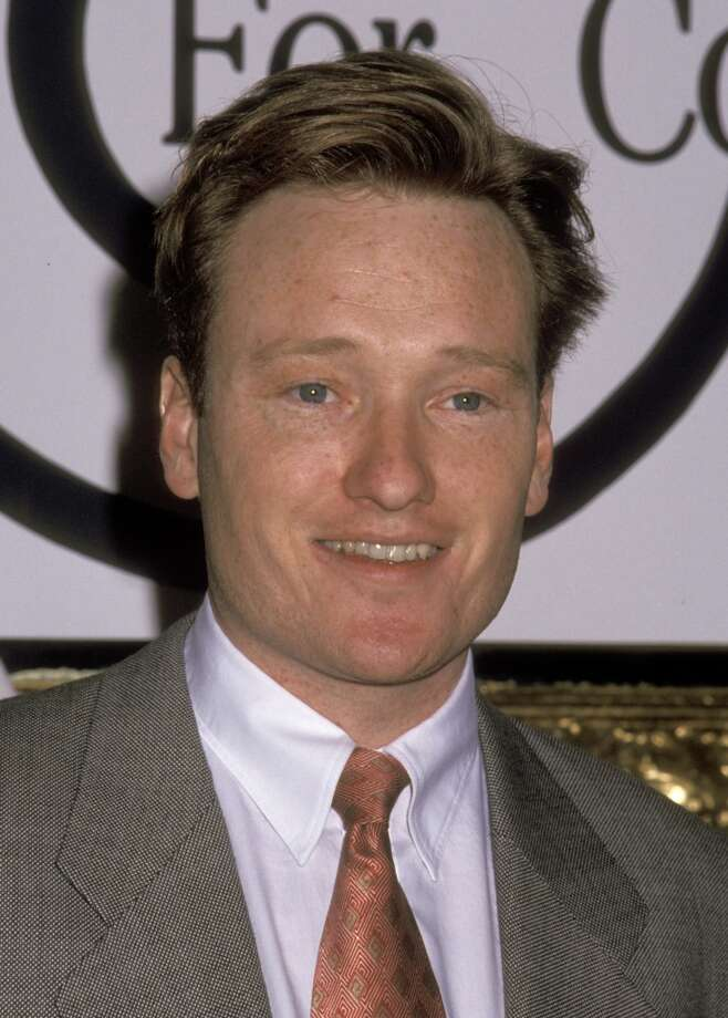 Conan O'Brien, 1993. Photo: Ron Galella, WireImage