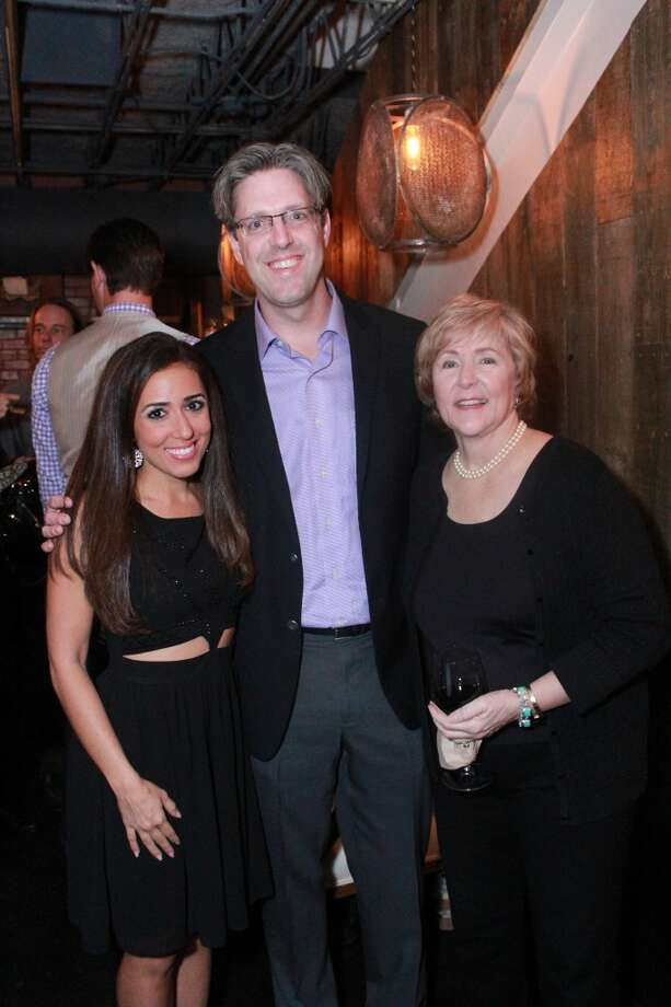 Sonia Azad of ABC Channel 13 News, Dr, Nathan Fowler, President and Co-Founder of the Halo House Foundation, Kathleen Fowler, Executive Director and Co-Founder of the Halo House Foundation