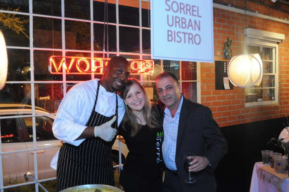 Chef Chris Andrus of Sorrel Urban Bistro, Chelsea Reif, Ray Salti